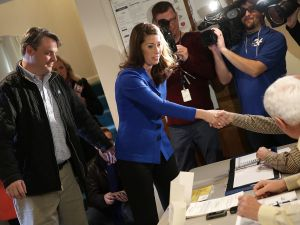 Alison Lundergan Grimes. (Photo by Win McNamee/Getty Images)