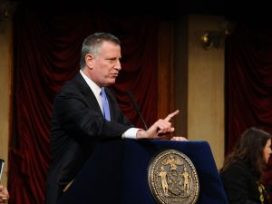 Mayor Bill de Blasio. (Photo: Ilya Savenok/Getty Images)