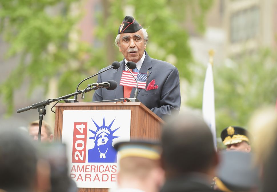 Rangel Says He'll Volunteer for Combat if Obama Can Prove ISIS Threatens Harlem