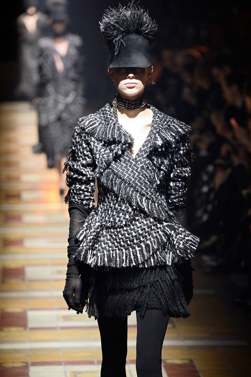A Fine Feathered Cap From Lanvin