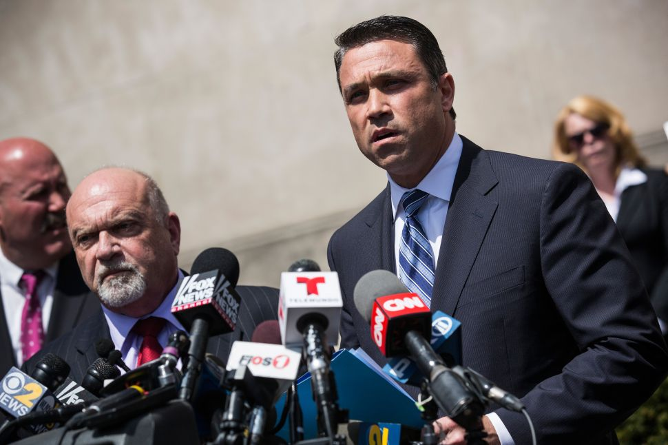 No Excuse for Michael Grimm's Televised Meltdown