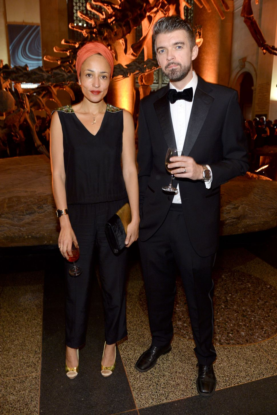 Zadie Smith and Nick Laird Make a Dashing Duo at Natural History Gala