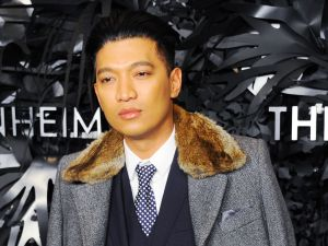 Bryanboy at the Guggenheim Museum