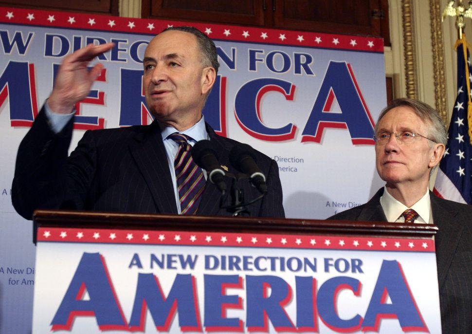 Schumer Believes He'll Return to the Majority in 2016