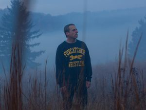 Steve Carrell plays John du Pont in Foxcatcher.