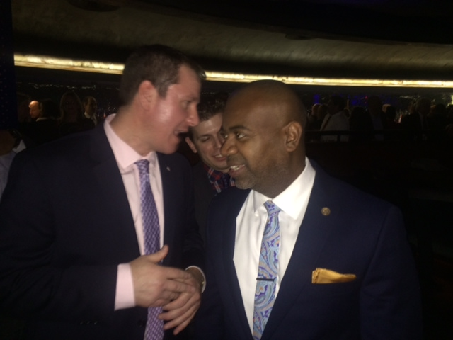 """At Baraka's """"North Jersey Explosion"""" party, Kenney says """"I'm interested"""" in blowing up LD 29"""