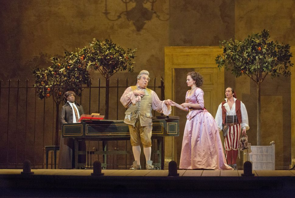 A Charming Rossini Lightens the Met's Stormy, Newsy Season