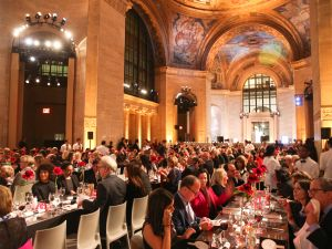 The Cunard White Star Building during the 2014 ICI Gala. (Photo courtesy Billy Farrell)