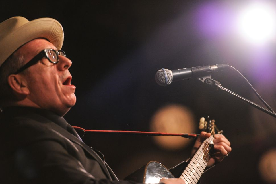 Elvis Costello Sings the Whitney Museum's Goodbye to the UES