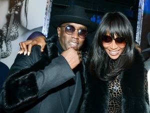 Diddy with Naomi Campbell