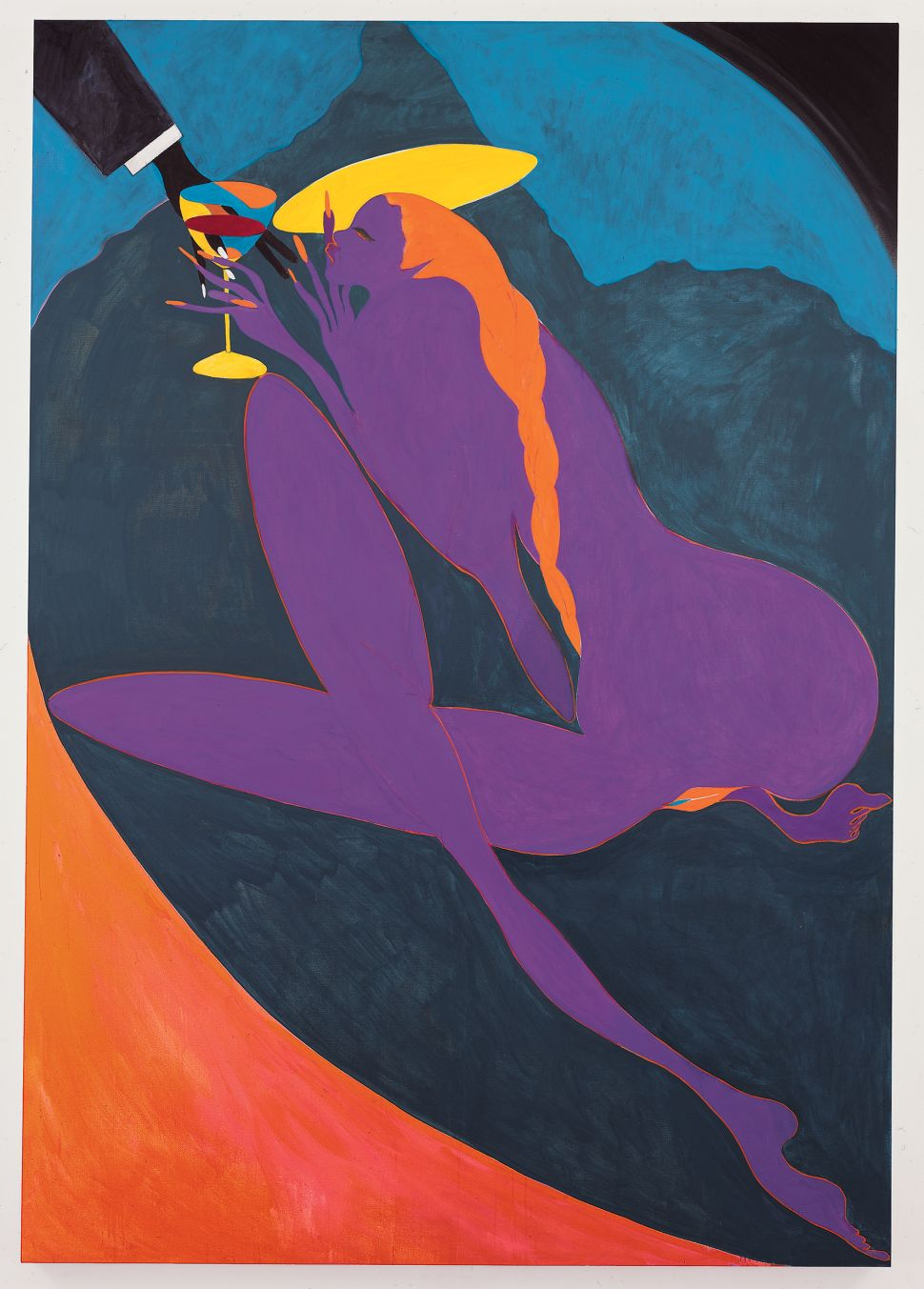 A Fresh Look at Chris Ofili, a Painter Propelled by Controversy, at the New Museum
