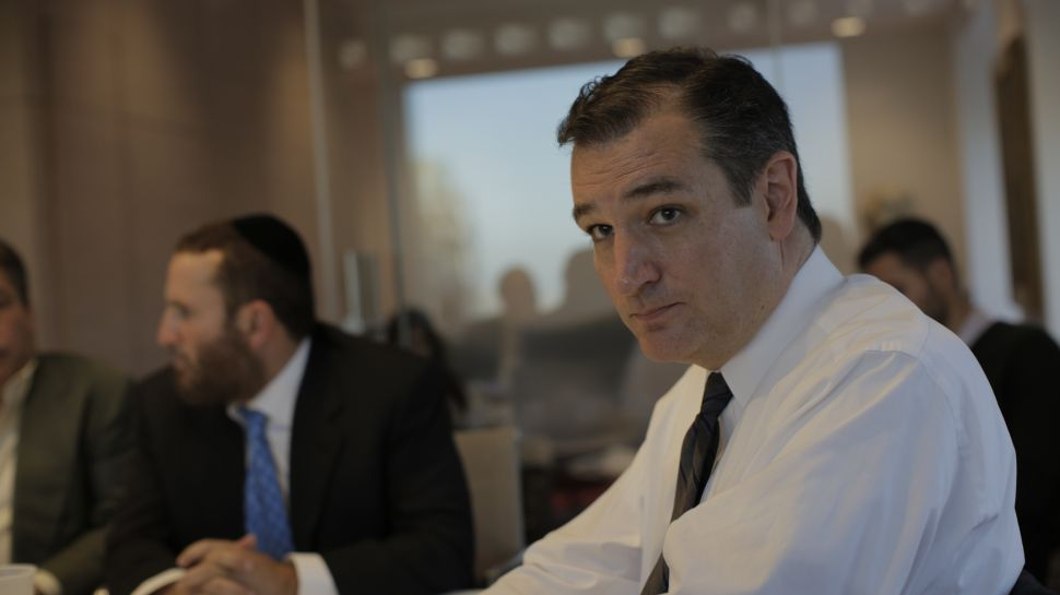 Sen. Ted Cruz, '16 Presidential Hopeful, Woos New York Jewish Donors – UPDATED