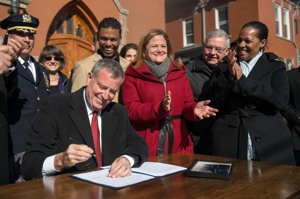 De Blasio Says Pro-Immigrant Cities Must Define 'Good, New Normal'