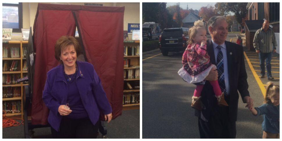 Bergen County Exec's race: Donovan, Tedesco vote, both claiming momentum edge