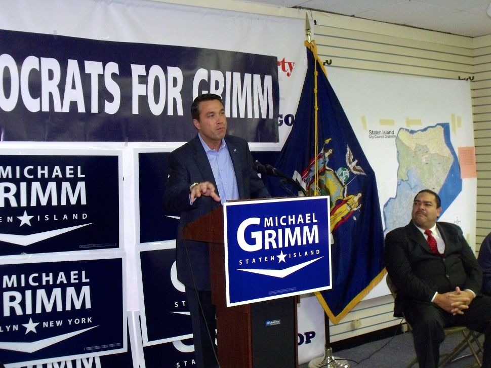 'Democrats For Grimm' Rally Hints At Unity — But Not With 'Ultra-Liberals'