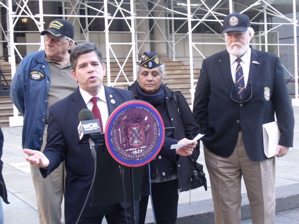 Gentile Wants Feds to Let Disabled Veterans Use H.O.V. Lanes