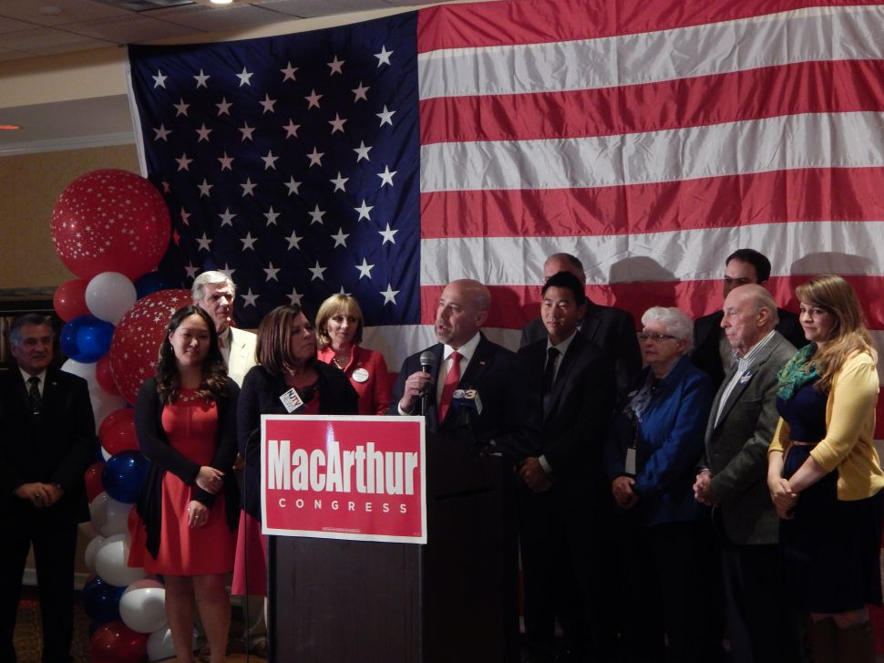 MacArthur to Republicans: 'This is an opportunity to governor, not to gloat'