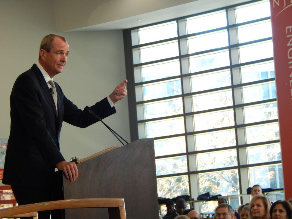 Murphy stirs talk of gubernatorial run at nonprofit launch
