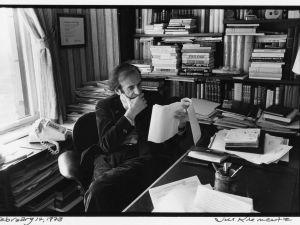 Photo of Elie Wiesel by Jill Krementz.