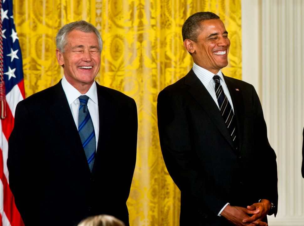 Politico: Why Obama disentangled himself from Hagel