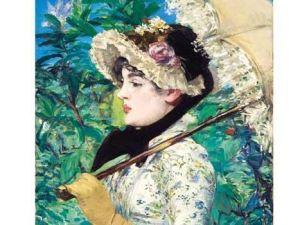 Manet's Le Printemps