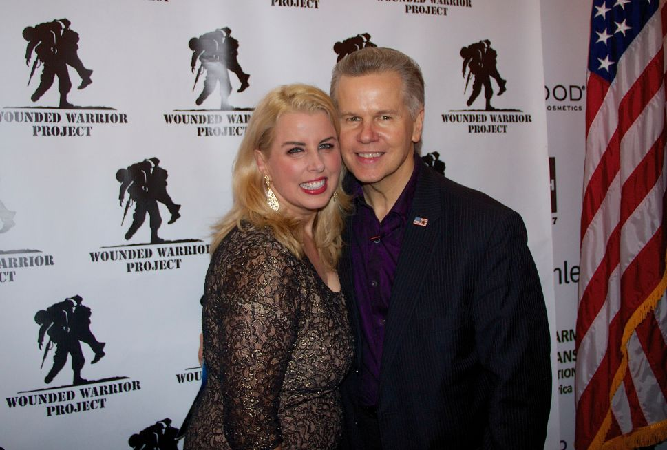 Rita Cosby Celebrates 50th Birthday with the Wounded Warrior Project