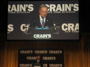 Former Mayor Michael Bloomberg (Photo: Will Bredderman).