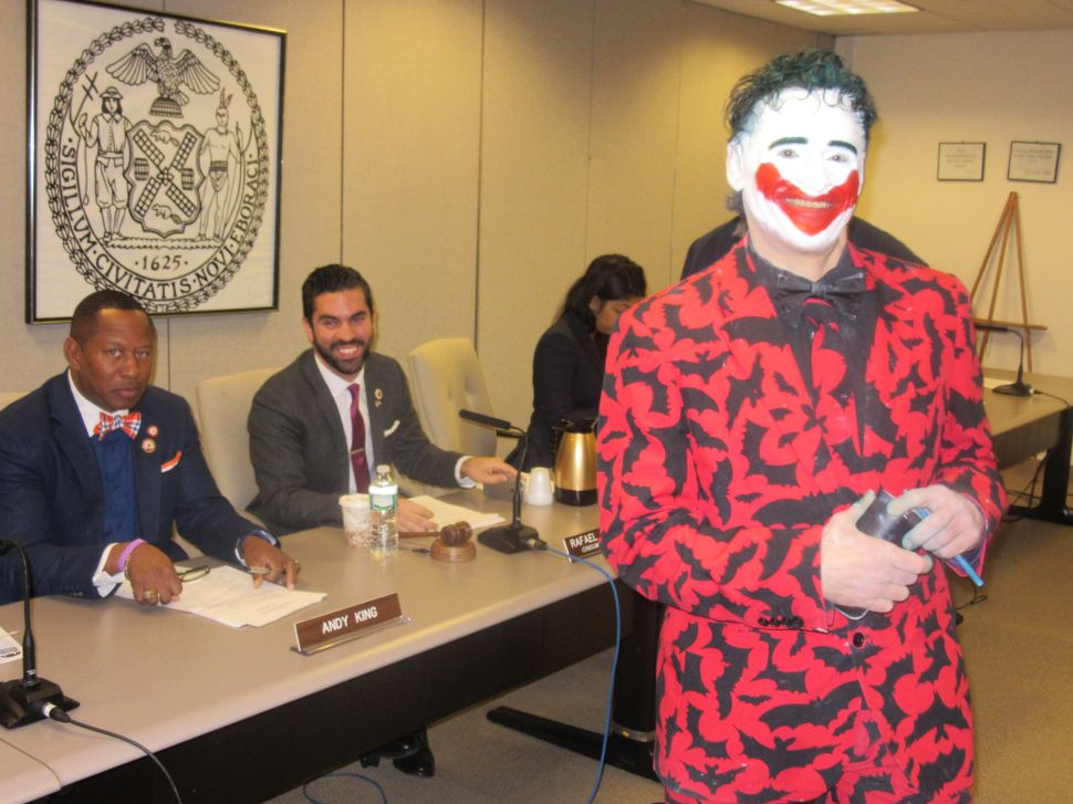 Council Committee Considers Costumed Character Crackdown