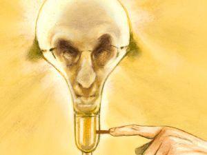 Illustration of Joel Klein by Steve Brodner