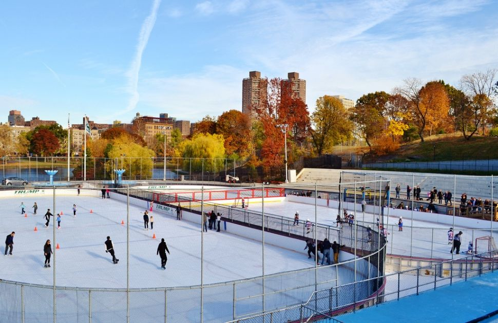 Central Park's Lasker Ice Rink Gets Last-minute Fix, Thanksgiving Day Opening