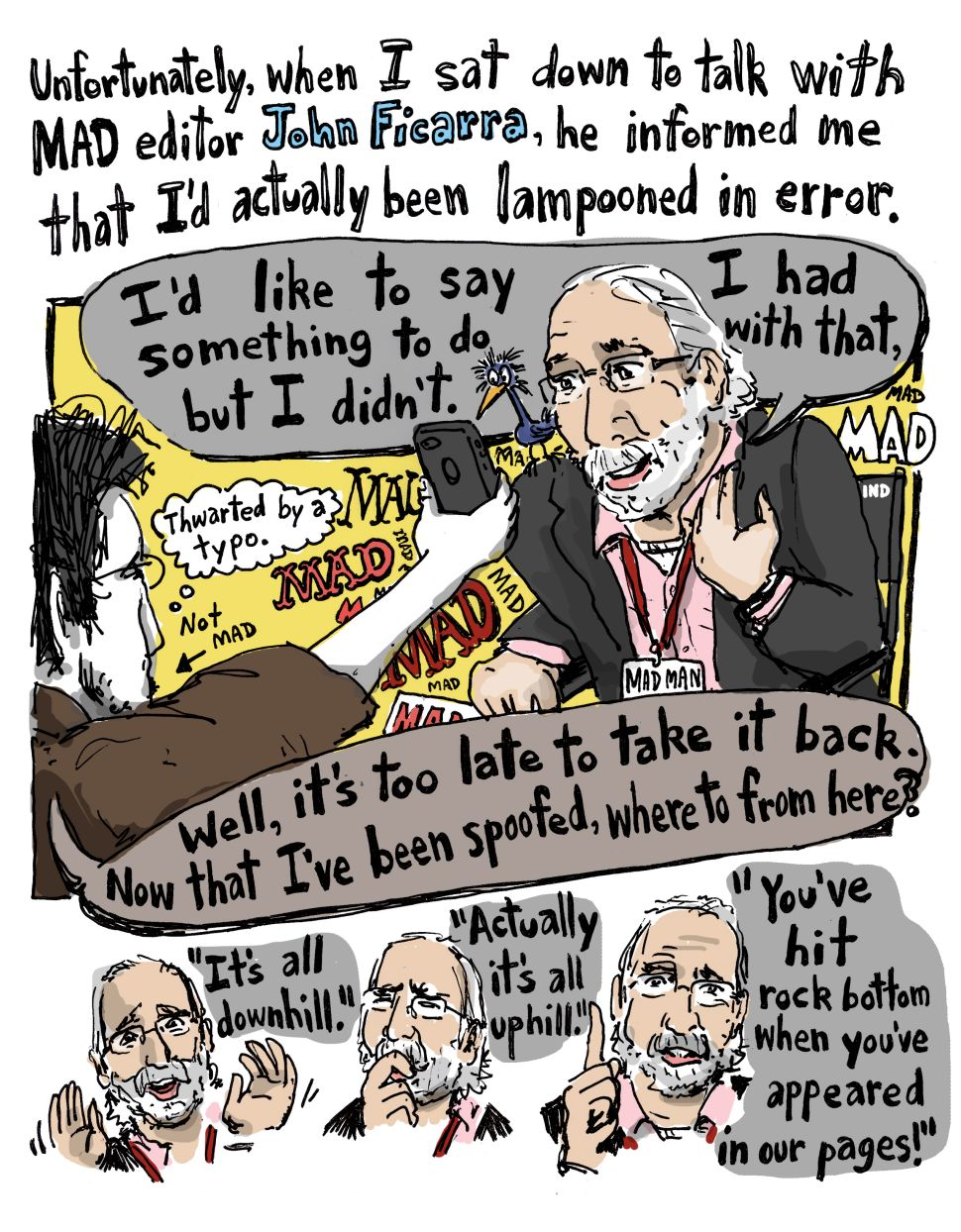 But Is It Internet Funny? A Comic Conversation With MAD Magazine Editor, John Ficarra