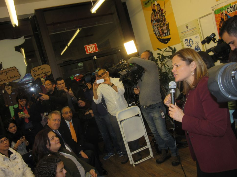 Mark-Viverito and Queens Officials Hail Obama Immigration Action