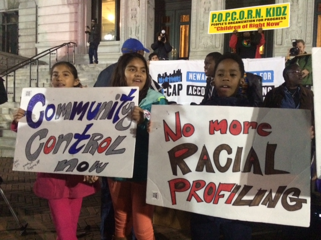 Rally calls for continued push for Newark police reform