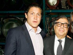 Vito Schnabel, Bob Colacello. (Courtesy Getty Images)