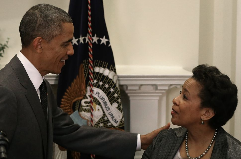 New York Officials Laud Obama's Pick of Lynch for Attorney General