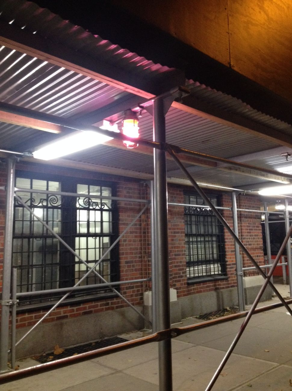 The Pink Light: a Minor New York Building Mystery