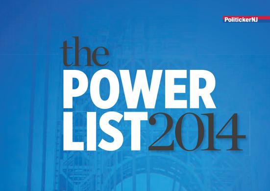 PolitickerNJ's Power List 2014