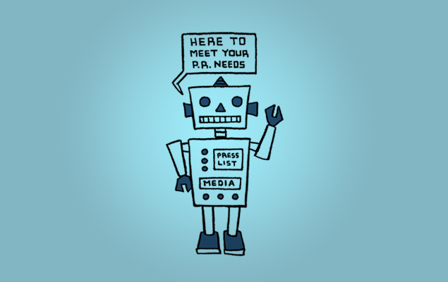 Will PR Robots Replace Human Flacks? A Test Drive