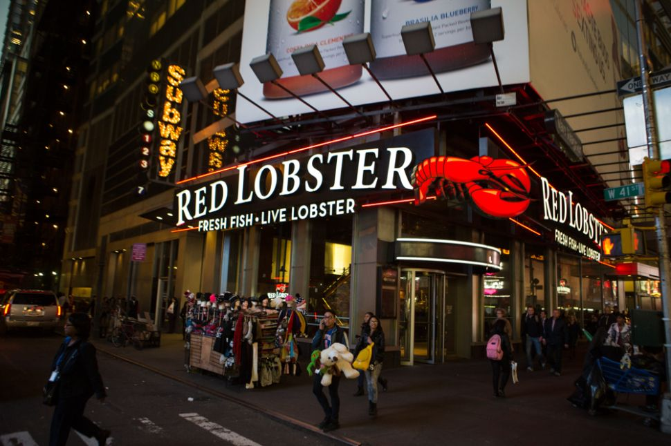 Consider the Red Lobster, Floundering Following A Rocky Re-vamp