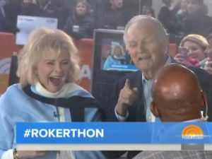 "Candace Bergen and Alan Alda join Al Roker to plug ""Love Letters,"" with some success."