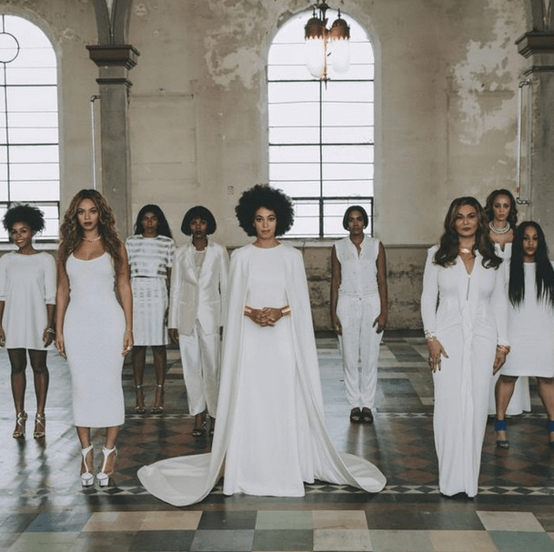 Solange Knowles's High-Fashion Wedding Is PR Gold