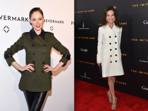 Model Coco Rocha and Actress Susan Lucci in New York City on Monday, Nov. 17