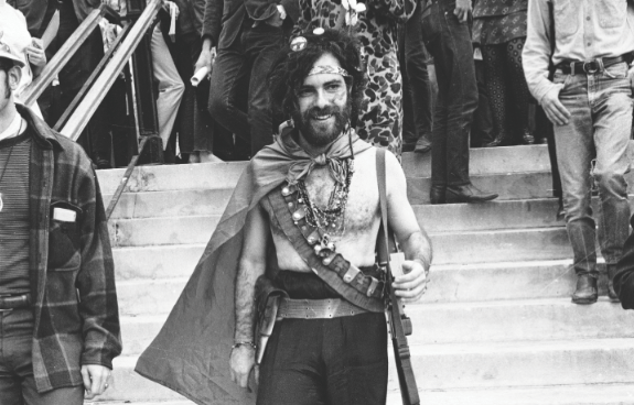 Jerry Rubin, His Penis and Me: A Very Short Story