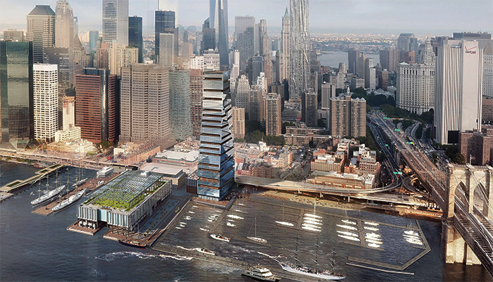On the Market: A Less Lofty South Street Seaport Tower; Myths of the Verrazano