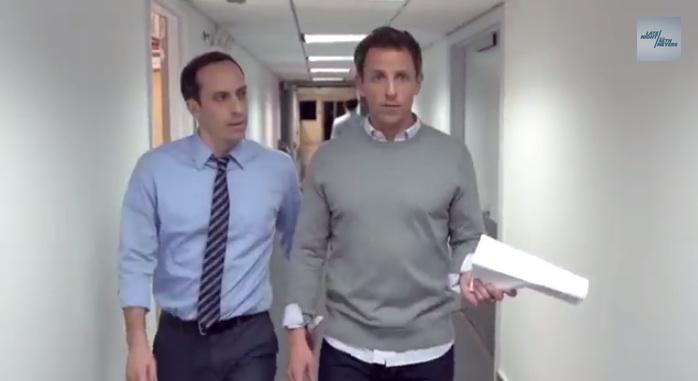 Seth Meyers' Aaron Sorkin Parody is Yes, Better Than Actual Sorkin (Video)