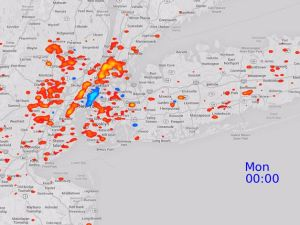 The New England Complex Systems Institute observed the behavioral patterns of New Yorkers via their Twitter Usage