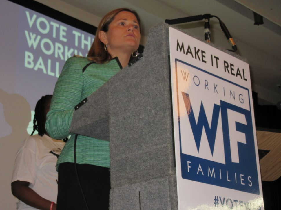 Working Families Party Badly Wounded on Election Night