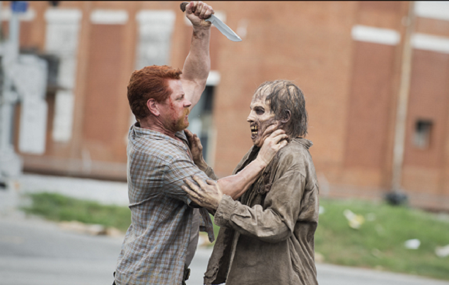 Watching 'The Walking Dead' With a Zombie 5×5: Self-Help