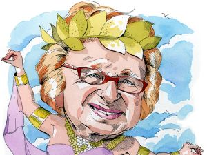 Dr. Ruth illustrated by Paul Kisselev