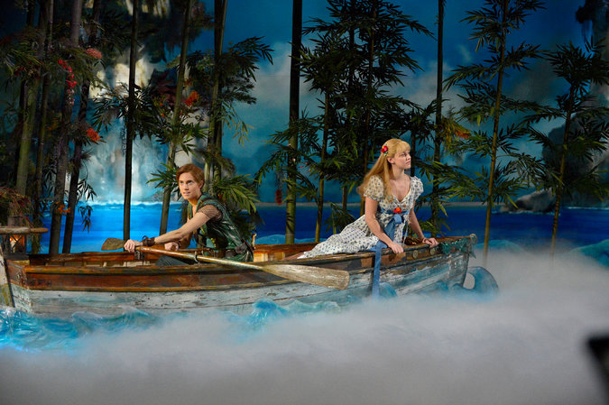 'Peter Pan Live!' Duels Adversity, On and Off Screen